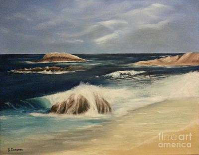 Painting - Monterey Coast by Bev Conover