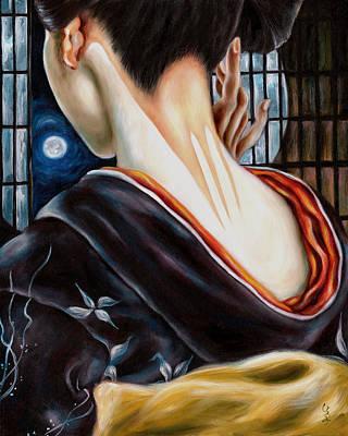 Painting - Moon by Hiroko Sakai