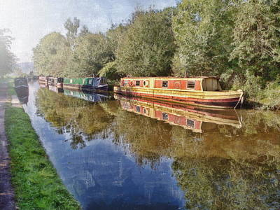 Digital Art - Moored Up by Paul Gulliver
