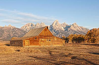 Photograph - Mormon Row by David Armstrong