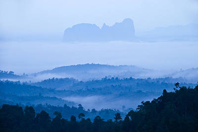 Photograph - Morning At Panorama Hill by Ng Hock How