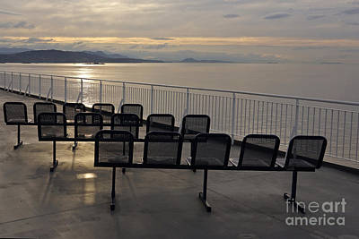 Photograph - Morning Ferry Ride by Inge Riis McDonald