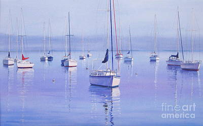 Painting - Morning Reflections by Karol Wyckoff