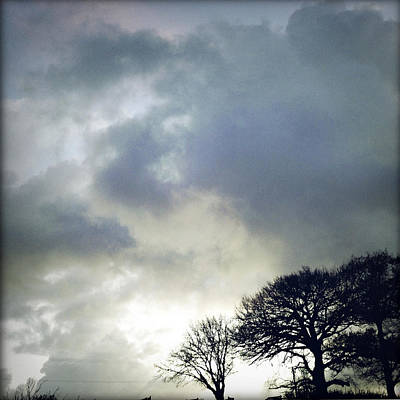 Morning Sky Art Print by Les Cunliffe