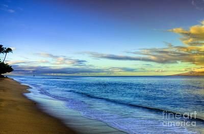 Kaanapali Beach Photograph - Morning View by Kelly Wade