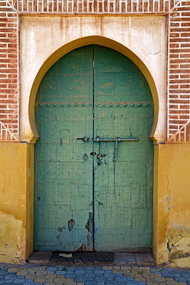 Photograph - Moroccan Door by Mick House