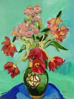Moroccan Vase Painting - Moroccan Vase by Marlyse Ruess