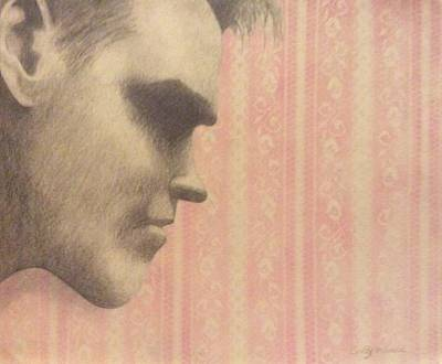 Lead Singer Mixed Media - Morrissey by Cynthia Hilliard