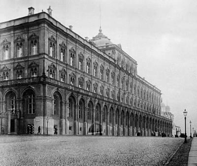 Photograph - Moscow Kremlin by Granger