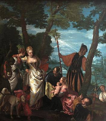 Save Water Painting - Moses Saved From The Waters by Paolo Veronese