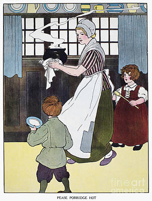 Mother Goose, 1916 Art Print