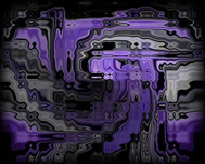 Abstraction Digital Art - Motility Series 9 by J D Owen