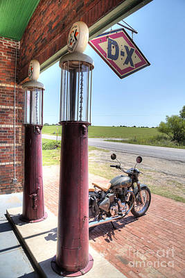 Route 66 Photograph - Motorcyles On Route 66 by Twenty Two North Photography