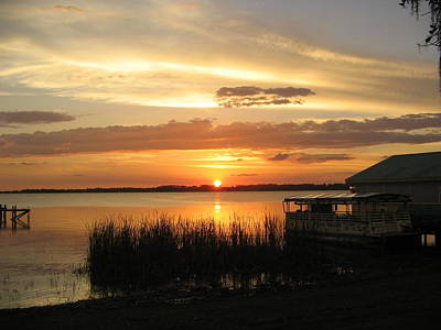 Photograph - Mount Dora Sunset by Denise Mazzocco