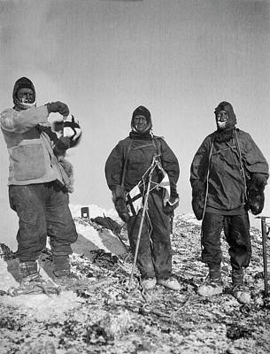 Abbott Photograph - Mount Erebus Ascent Expedition by Scott Polar Research Institute