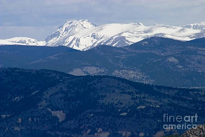 Steven Krull Royalty-Free and Rights-Managed Images - Mount Evans and Continental Divide by Steven Krull