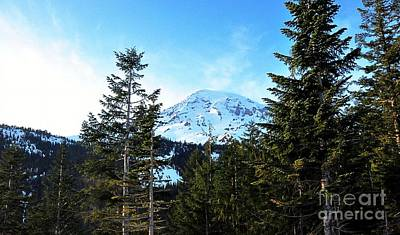 Photograph - Mount Rainier by Phillip Garcia