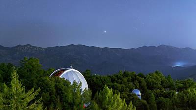 Mount Wilson Observatory Art Print by Babak Tafreshi