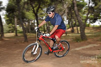 Bike Photograph - Mountain Biking by George Atsametakis