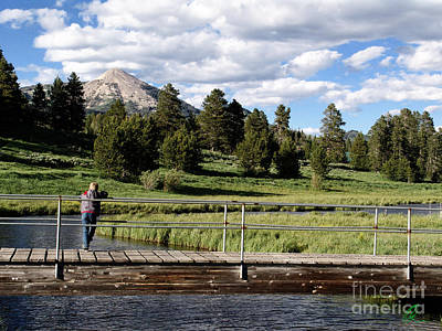 Photograph - Mountain Fishing by Chris Thomas