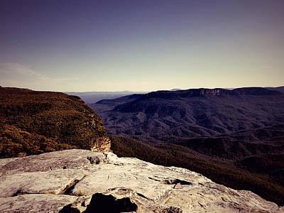 David Bowie - Mountain landscape by Girish J