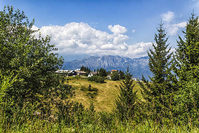Mountain Panorama. Italy Art Print