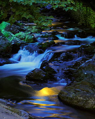 Photograph - Mountain Stream by Frozen in Time Fine Art Photography
