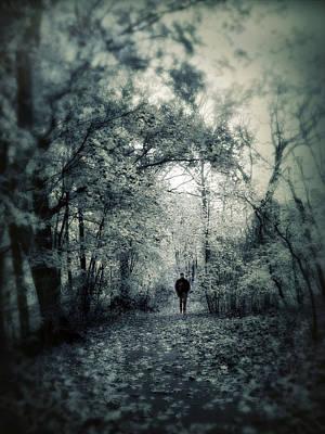 Rural Digital Art - Mournful Journey by Jessica Jenney