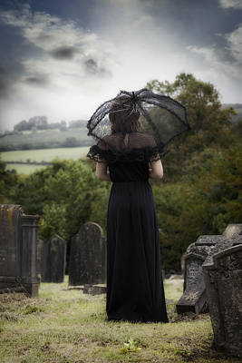 Tomb Photograph - Mourning by Joana Kruse