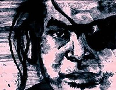 Kendo Wall Art - Digital Art - Movie Samurai by Mike Miller