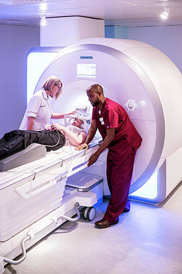 Mri Photograph - Mri Scanning by Aberration Films Ltd