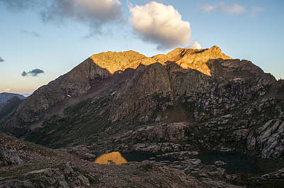 Twin Lakes Photograph - Mt. Eolus by Aaron Spong