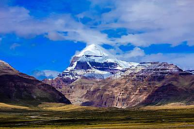 Tibetan Buddhism Photograph - Mt Kailash. by Kirill Kamionsky