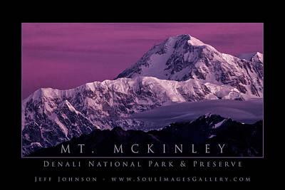 Jeff Johnson Photograph - Mt. Mckinley by Jeff Johnson