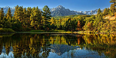Er Photograph - Mt Sneffels by Ken Smith