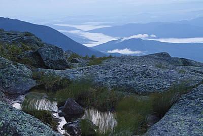 Photograph - Mt. Washington Blue Hour by John Vose