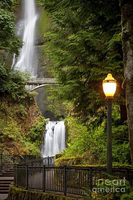 Photograph - Multnomah Falls by Brian Jannsen