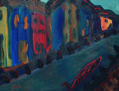 Painting - Murania  by Oscar Penalber