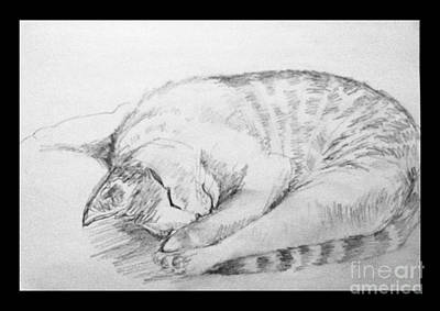 My Pet Cat Art Print