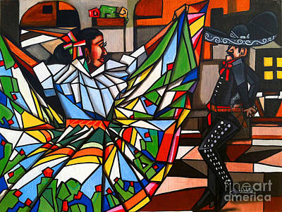 My Roots Art Print by Ruben Archuleta - Art Gallery