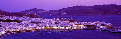 Mykonos, Cyclades, Greece Art Print by Panoramic Images