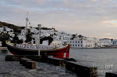 Photograph - Mykonos - Greece by Haleh Mahbod