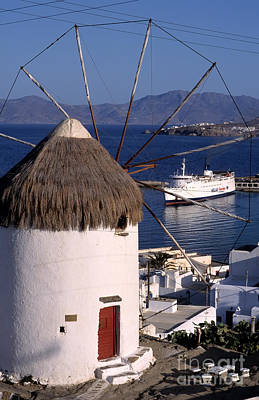 Photograph - Old Port In Mykonos by George Atsametakis