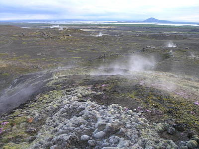 Photograph - Myvatn by Olaf Christian