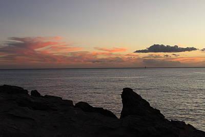 Power Photograph - Nanakuli Coast At Dusk by Michael Kim