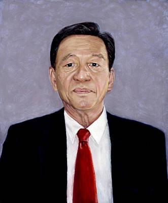 Pastel - Uncle Du by Nancy Yang
