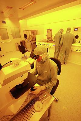 Nanotechnology Centre Art Print by Ibm Research