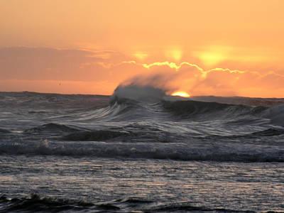 Photograph - Napali Coast Winter Sunset by Robert Lozen