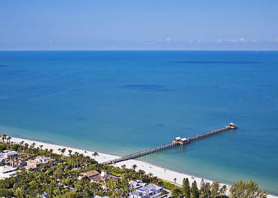 Photograph - Naples Pier by Patrick M Lynch