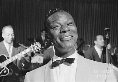 Cole Photograph - Nat King Cole 1954 by The Harrington Collection